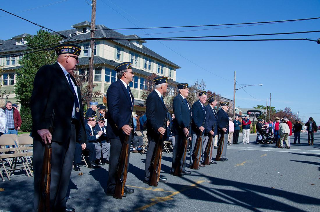 Veterans Day wreath Presentation