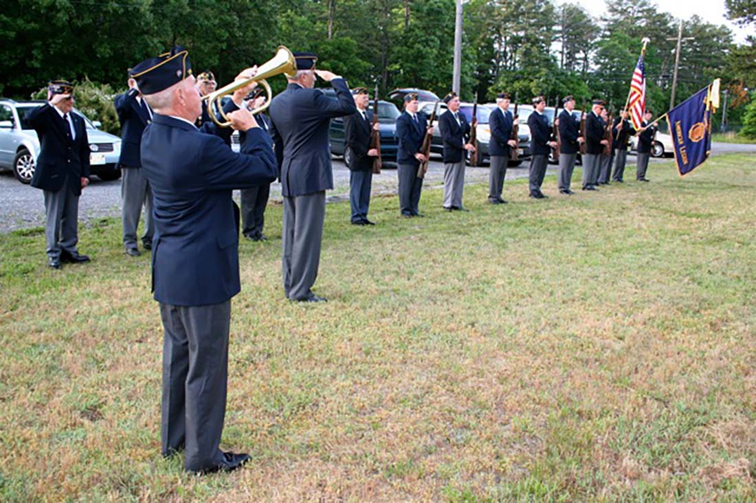 Memorial Day Taps at Gravesite